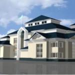 Эскизный проект здания детского сада