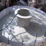 Резервуар - накопитель питьевой воды.