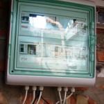 Шкаф управления системой подачи и накопления питьевой воды коттеджа
