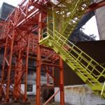 Антикоррозионная защита металлоконструкции эстакады металлургического комбината