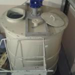 Резервуар для хранения и переработки яблочного пюре и других пищевых продуктов