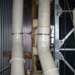 Система воздуховодов гальванического цеха